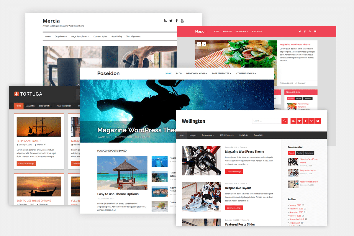 Free WordPress Theme With Page Builder