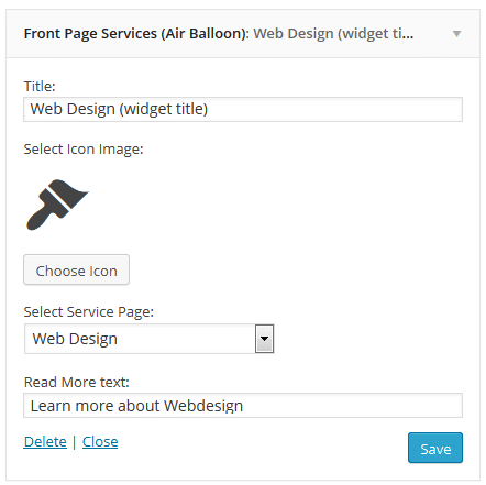 frontpage-services-widget-settings