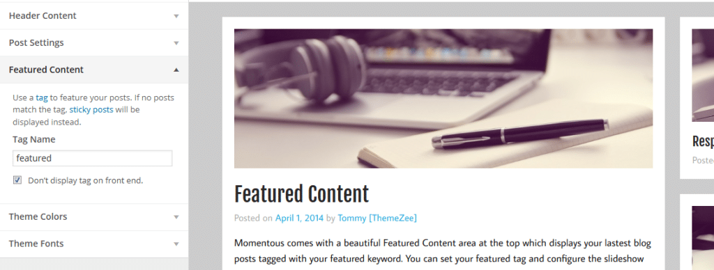 momentous-featured-content