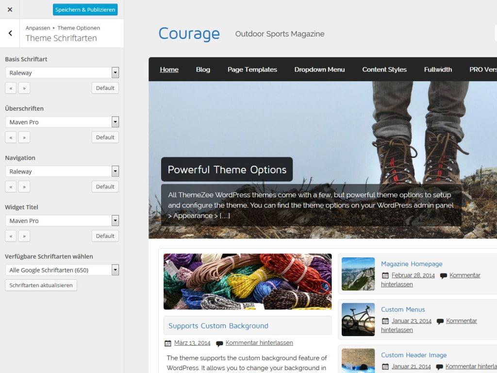 courage-theme-schriftarten