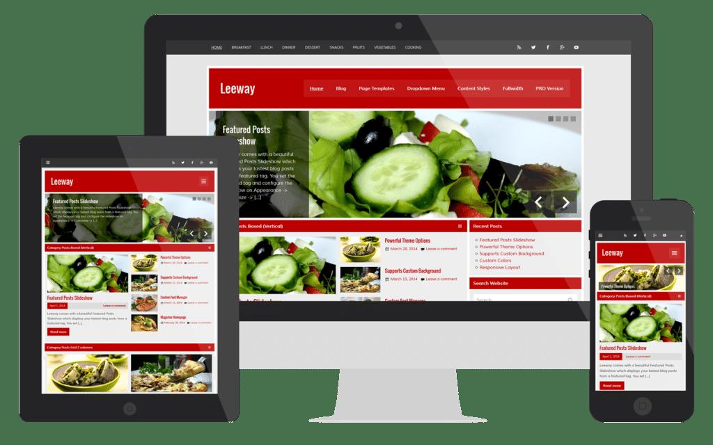 leeway-responsive-layout