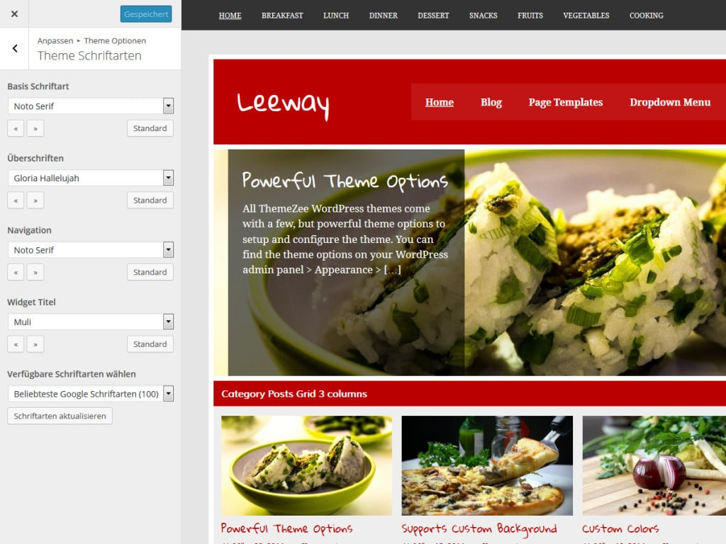 leeway-theme-schriftarten