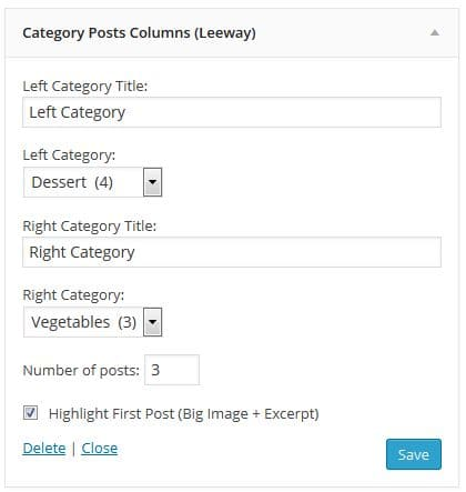 leeway-two-column-widget-settings