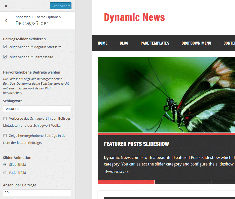dynamic-news-slider-einstellungen