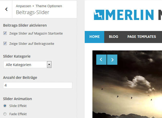 merlin-beitrags-slider-optionen