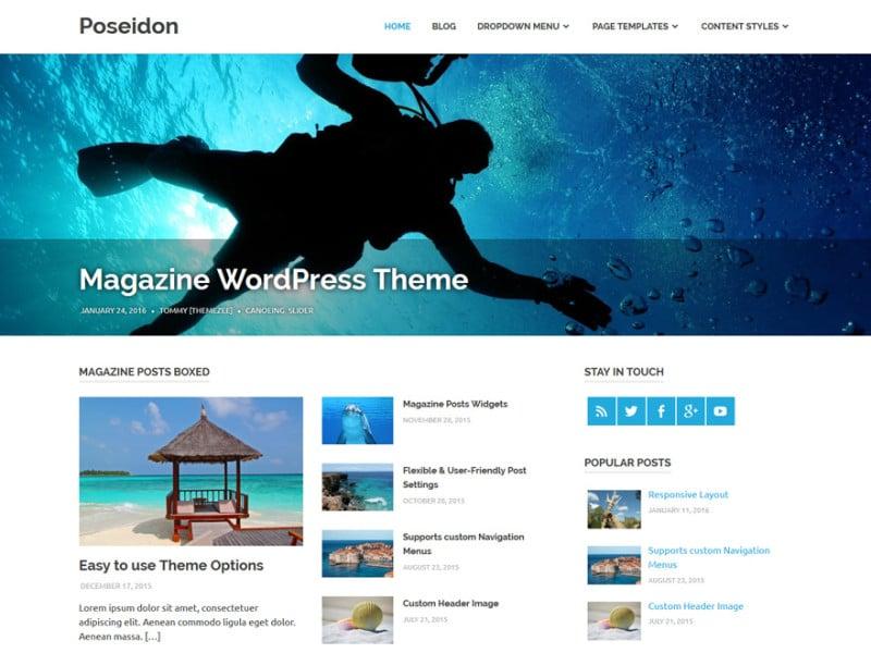 Poseidon – ThemeZee