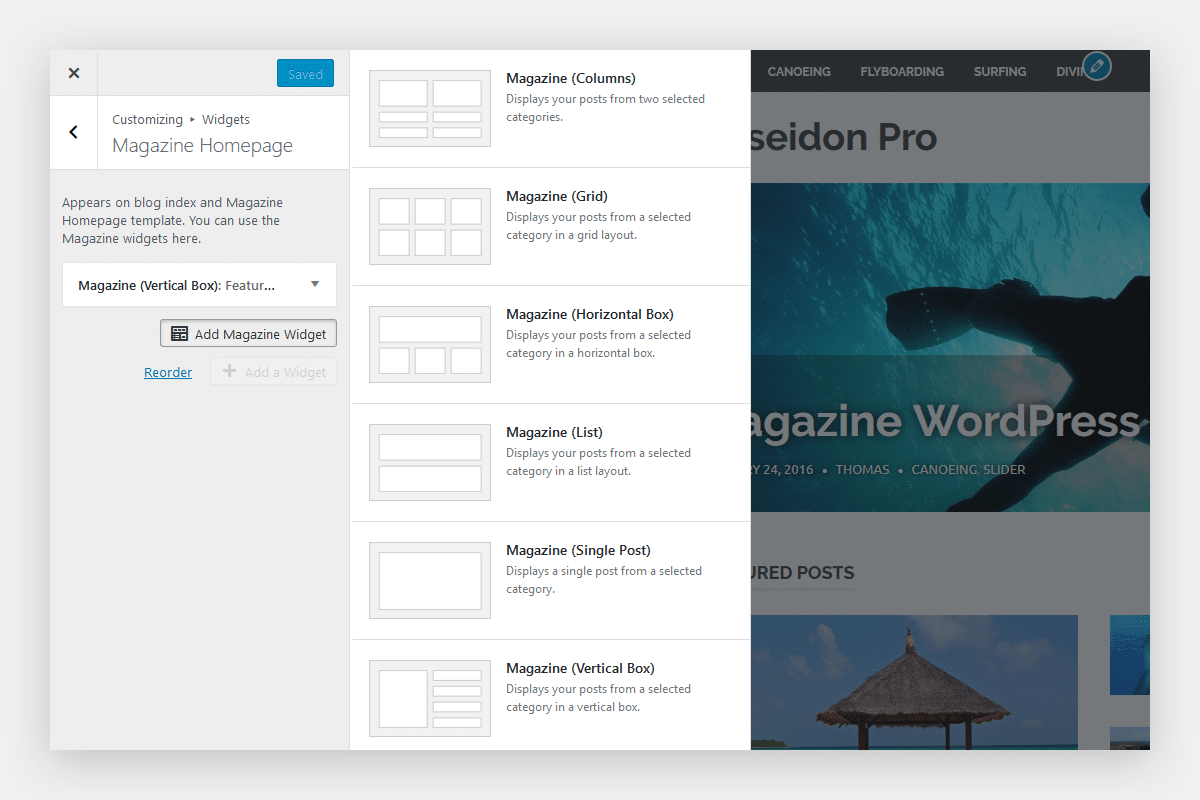 How To Use The Magazine Widgets Themezee
