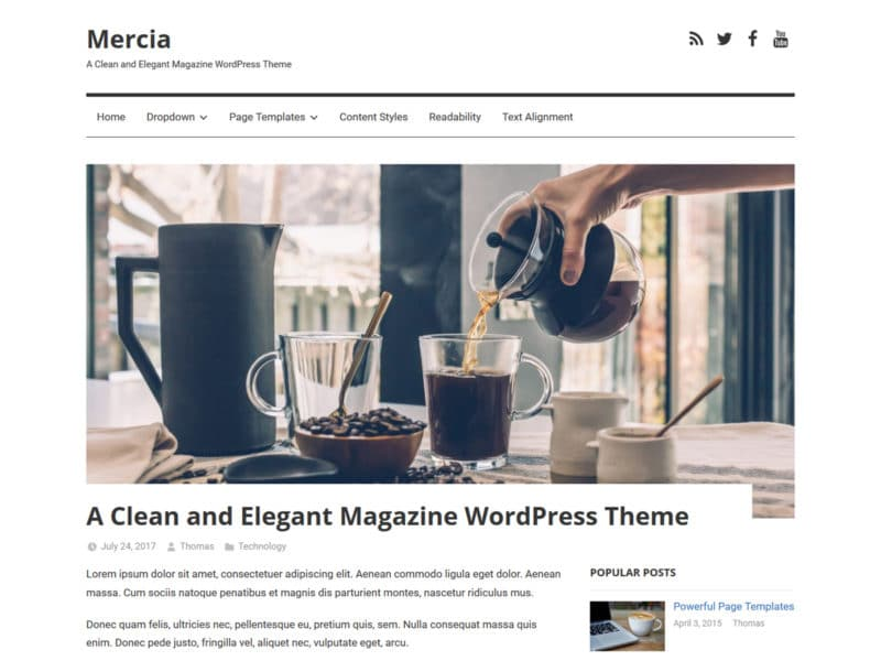 Mercia – ThemeZee