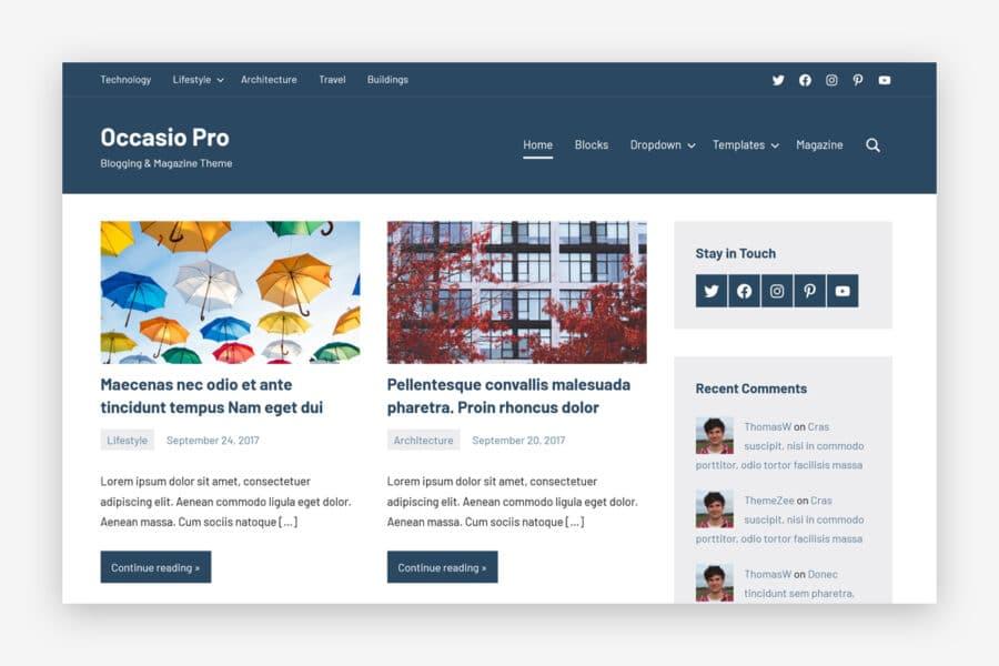 Occasio Pro Premium Features